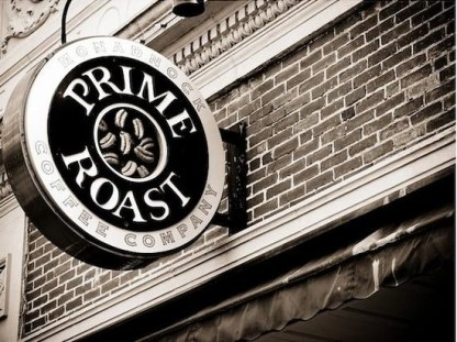 Prime Roast Co. offers coffee exclusively