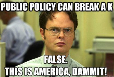 A funny meme of Public Policy