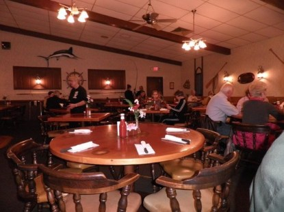 People dining at the Schlesinger's Steakhouse
