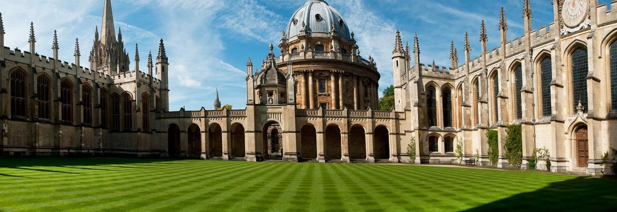 The main building at the University of Oxford