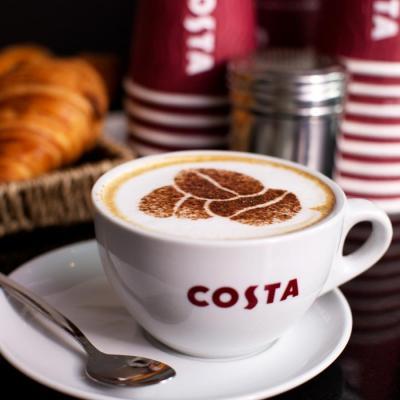 a fancy coffee bean latte