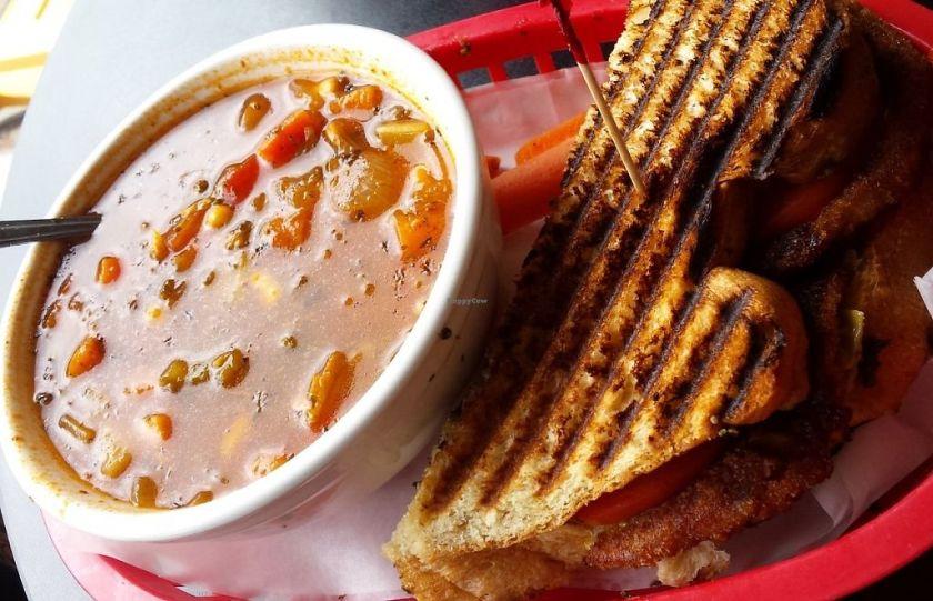 soup and panini combo