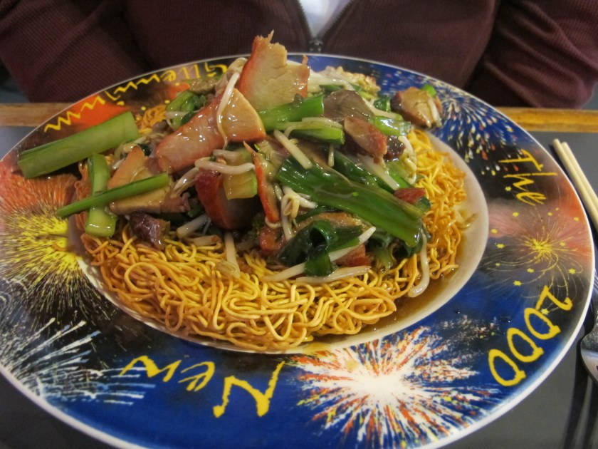 Plate from Lulu's noodles