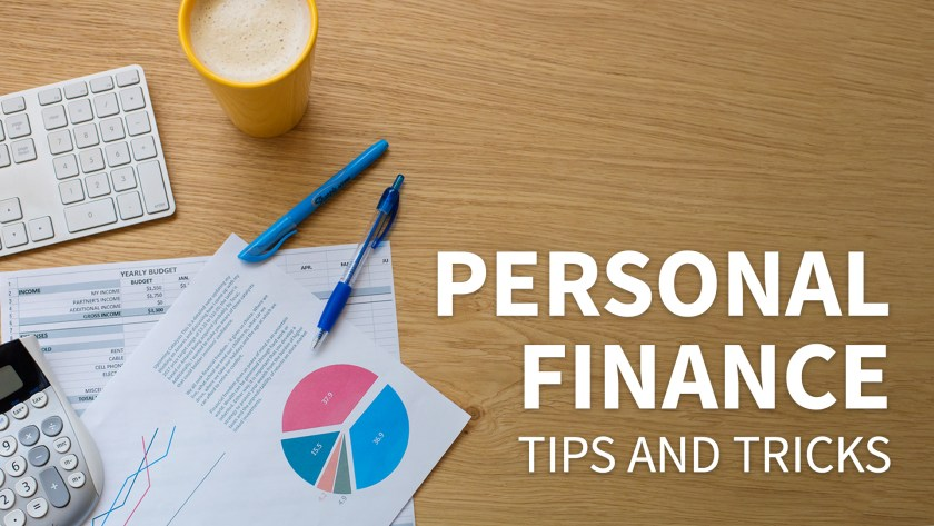 Picture of a title slide for a personal finance slide deck