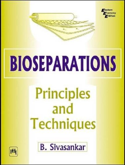 Bioseparations Textbook Cover