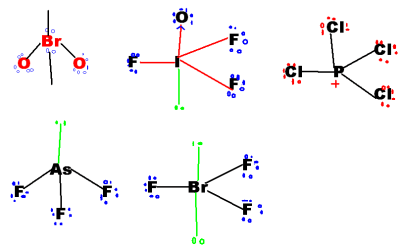 structural formula of ions