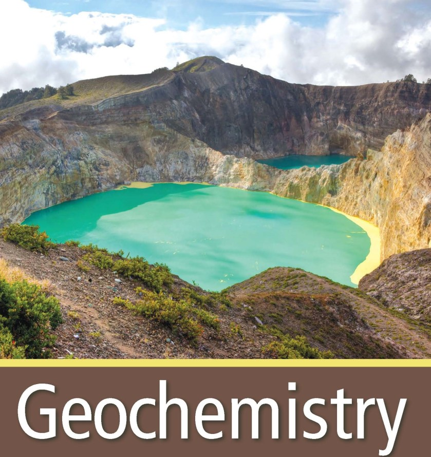A Geochemistry textbook cover page