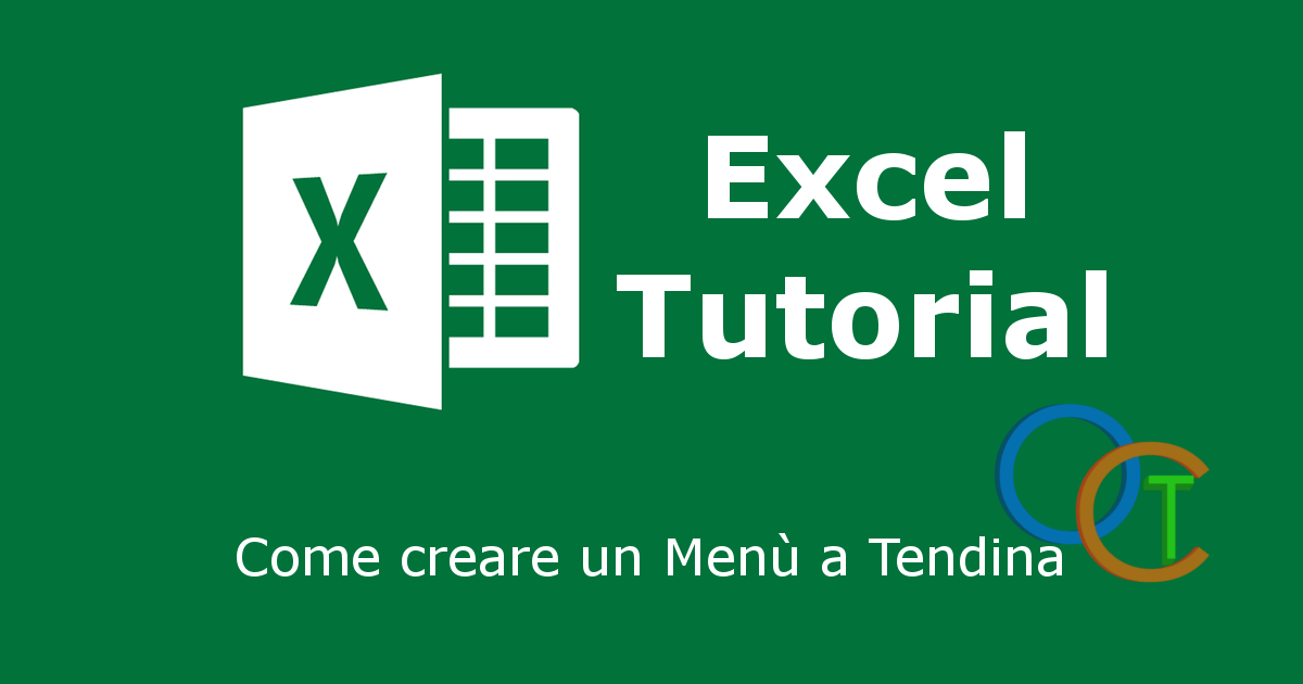 Creare un Menu a tendina in Excel