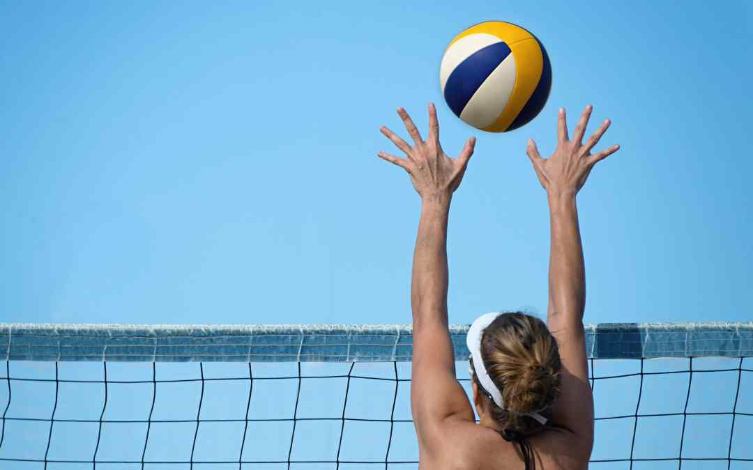 The New Pro Regulation Beach Volleyball Court