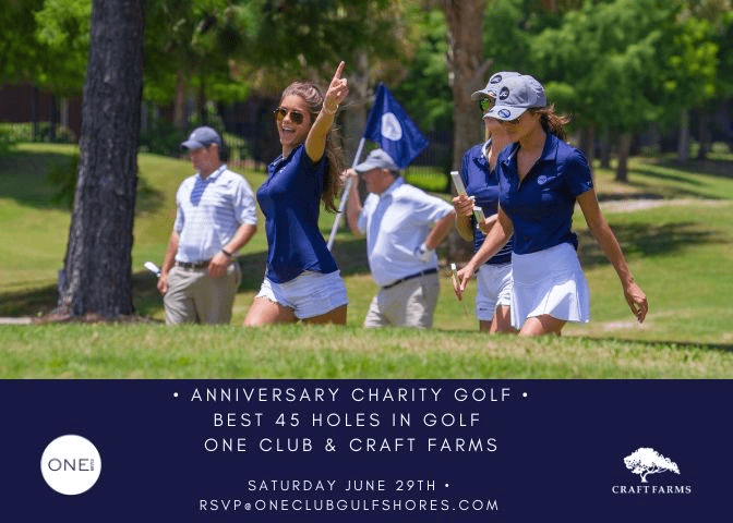 ONE CLUB celebrates ONE year with a golf tournament supporting childhood education