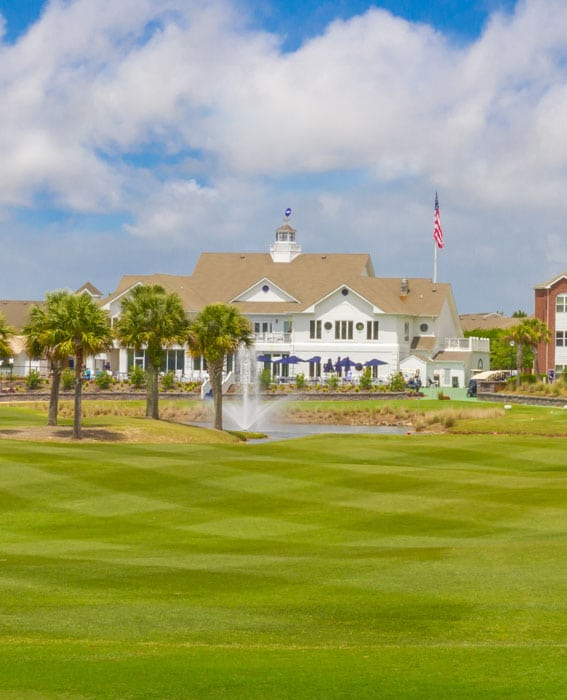 clubhouse at ONE Club golf course