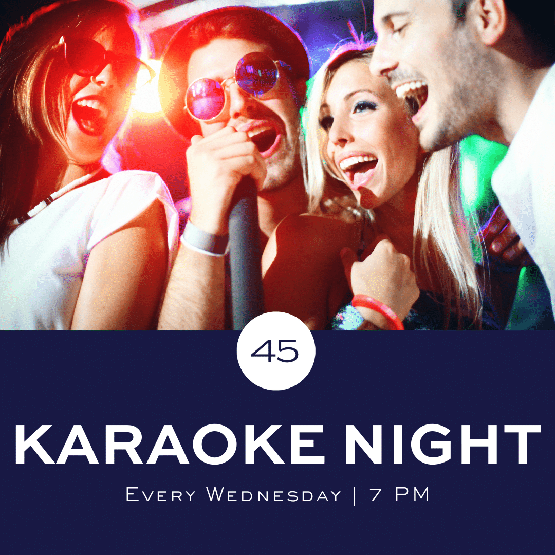 Karaoke in Gulf Shores at Bar 45