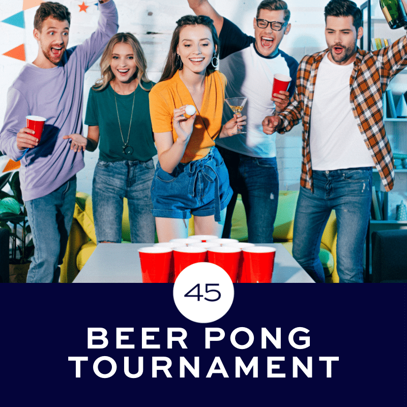 Beer Pong Tournaments at Bar 45 in Gulf Shores