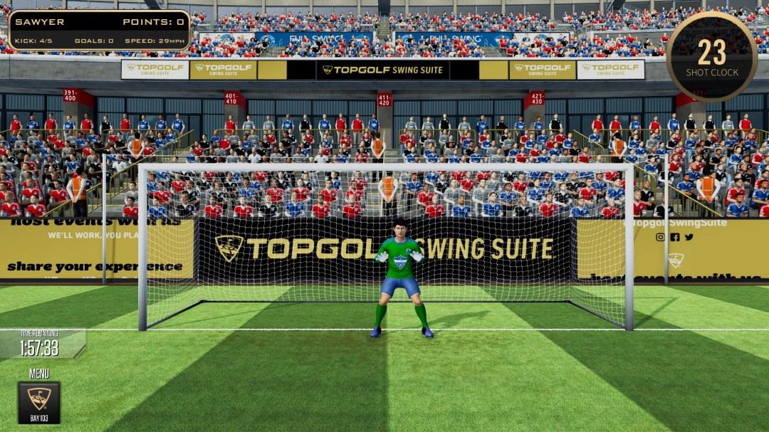 virtual quarterback topgolf