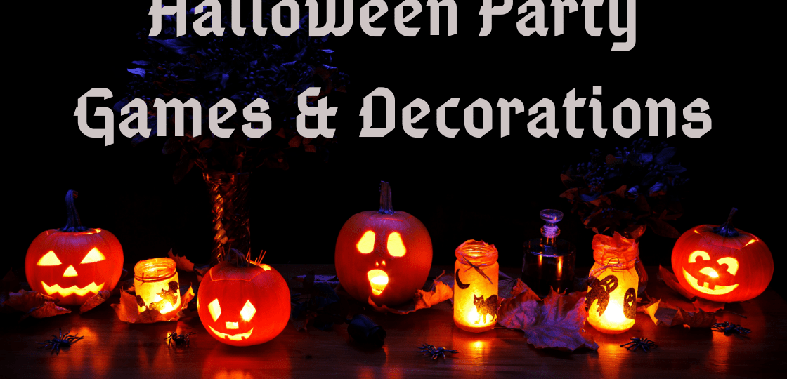 Halloween Party Games & Decorations