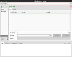 Selenium IDE Add-on