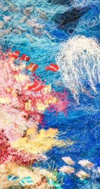 'Reef I (Jelly Fish) by Jo Hyam