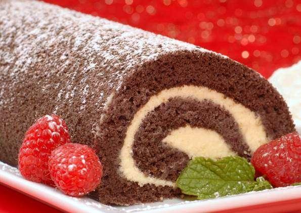 chocolate-roll-cake