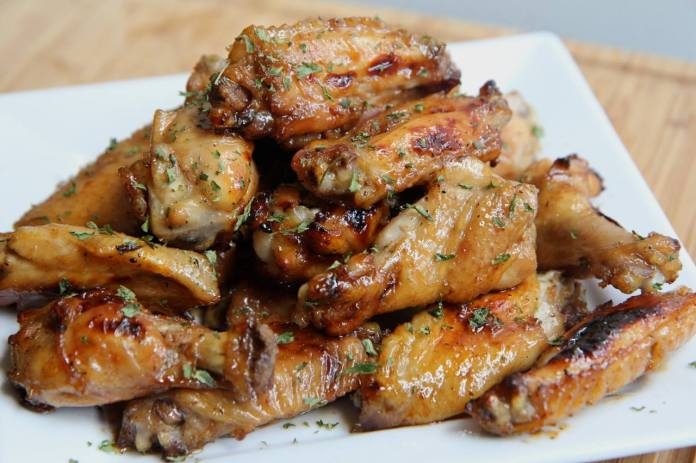 Tangy Baked Chicken Wings!