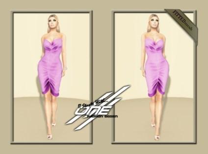DQ...Tube_Satin_Dress_(_PURPLE__)