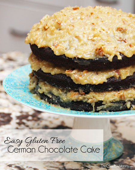 Easy Gluten Free German Chocolate Cake And A Funny Story