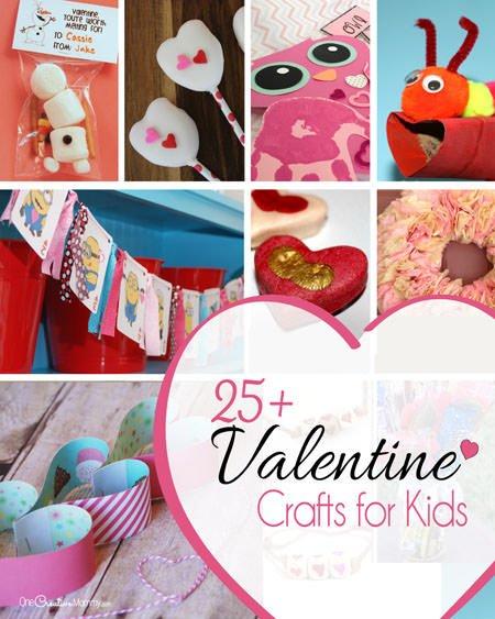 25 Cute Valentine Crafts For Kids