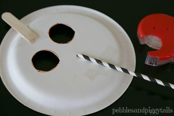 Pumpkin Craft Plate