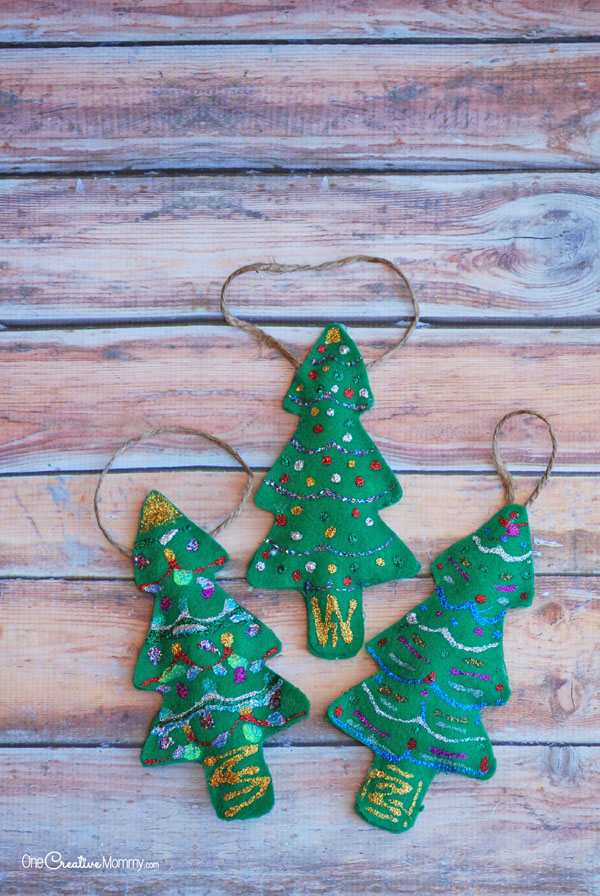 Felt Christmas Ornaments Cool Kids Craft