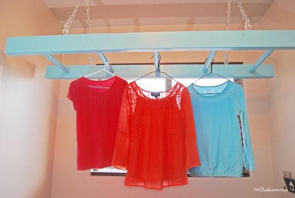 easy ladder laundry drying rack