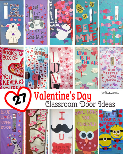 27 Creative Classroom Door Decorations For Valentines Day