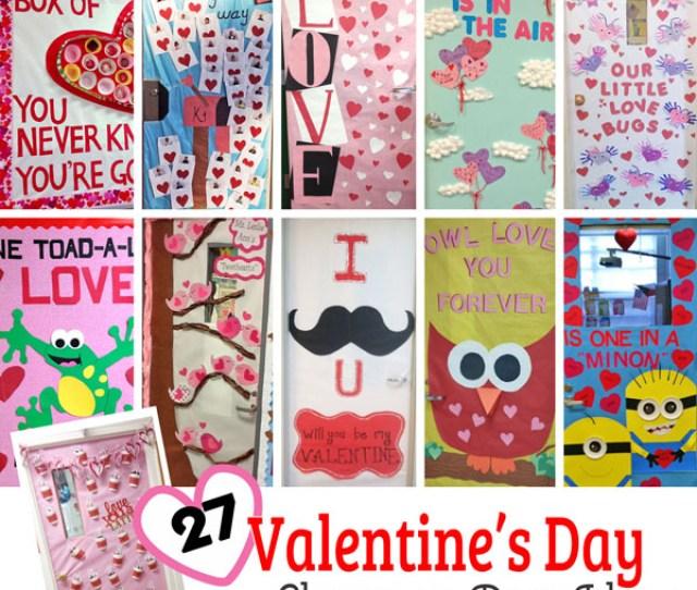 Creative Valentines Day Classroom Door Decorations Onecreativemommy Com I Cant