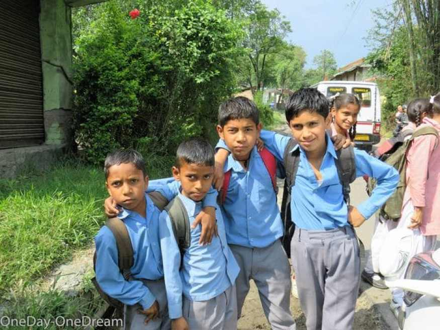 kangra indian kids