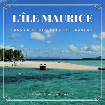 L'île Maurice sans passeport pour les français