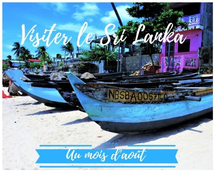 Visiter le Sri Lanka au mois d'août