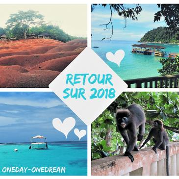 Retour sur l'année 2018 – Voyages et bilan du blog