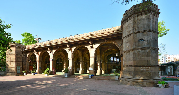One Day Ahmedabad Local Sightseeing Trip by Car Sidi Sayed Mosque
