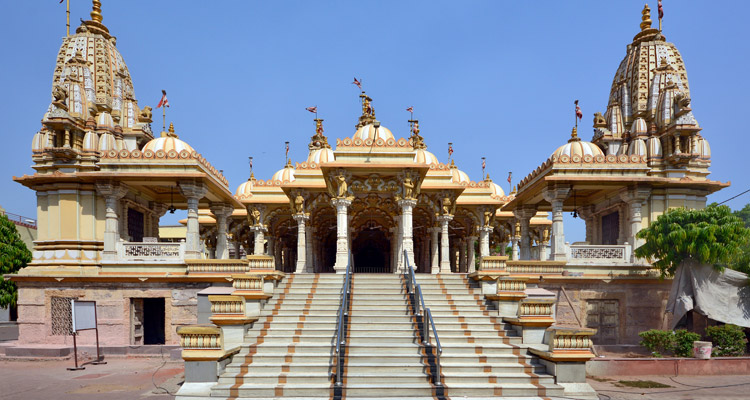 One Day Ahmedabad Local Sightseeing Trip by Car Swaminarayan Temple