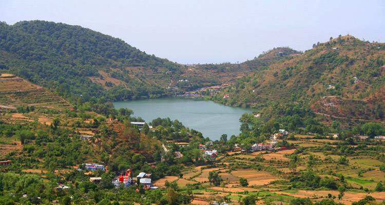 One Day Bhimtal Local Sightseeing Trip by Car Naukuchiatal Lake