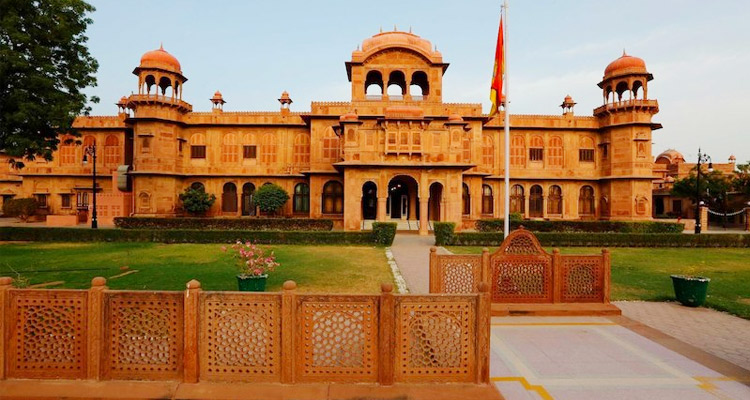 One Day Bikaner Local Sightseeing Trip by Car Lalgarh Palace