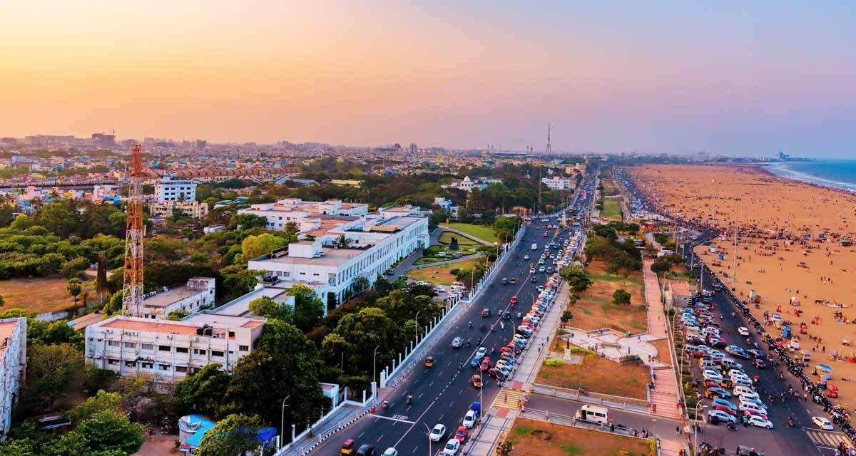 One Day Chennai Local Sightseeing Trip by Car Header