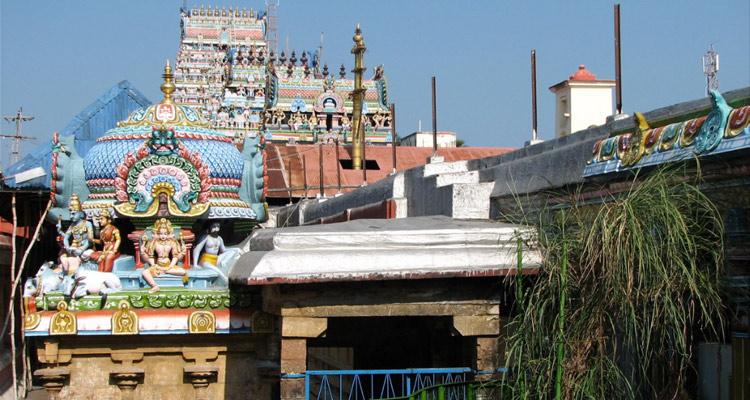 One Day Chennai to Thirunallar Trip by Car Thirunallar Saneeswara Temple