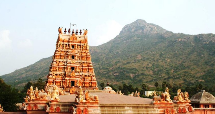 One Day Chennai to Tiruvannamalai Trip Adi Annamalai Temple