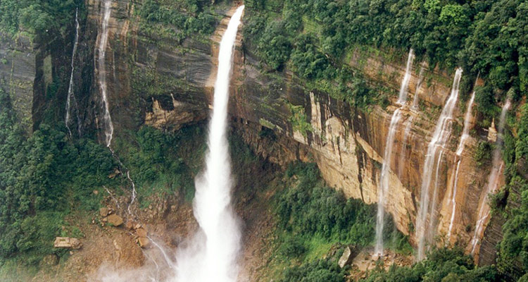 One Day Cherrapunji Local Sightseeing Trip by Car Mawsmai Waterfalls