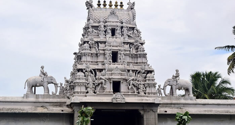One Day Coimbatore Temple Trip by Car Eachanari Vinayagar Temple