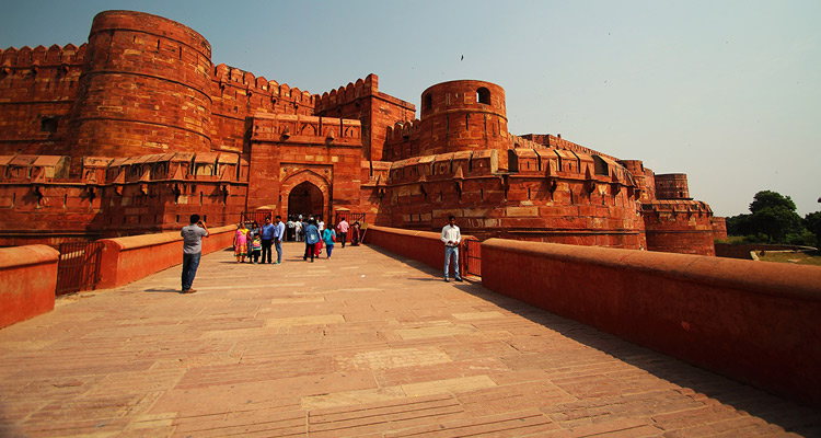 One Day Delhi to Taj Mahal Sunrise Trip by Car Agra Fort