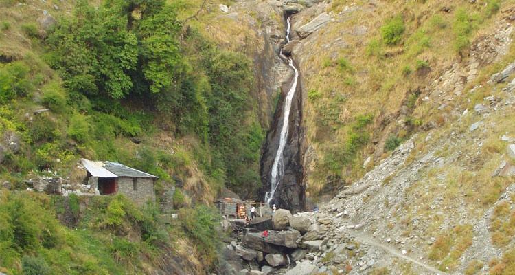 One Day Dharamshala Local Sightseeing Trip by Car Bhagsu Falls
