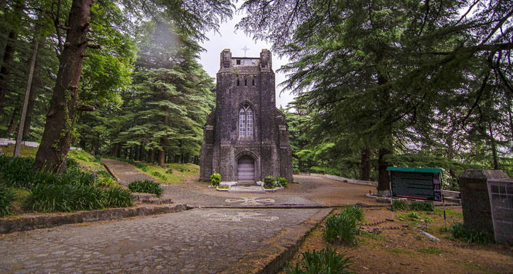 One Day Dharamshala Local Sightseeing Trip by Car St. John in the Wilderness Church