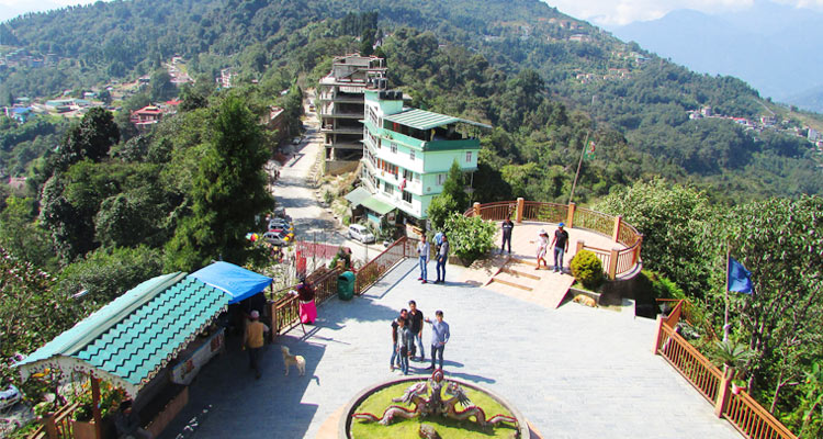 One Day Gangtok Local Sightseeing Trip by Car Tashi View Point