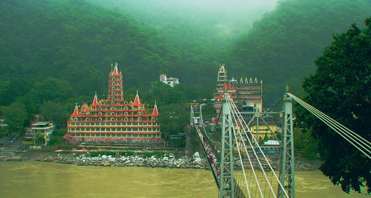 Laxman Jhula with One Day Haridwar and Rishikesh Local Sightseeing Trip by Private Cab