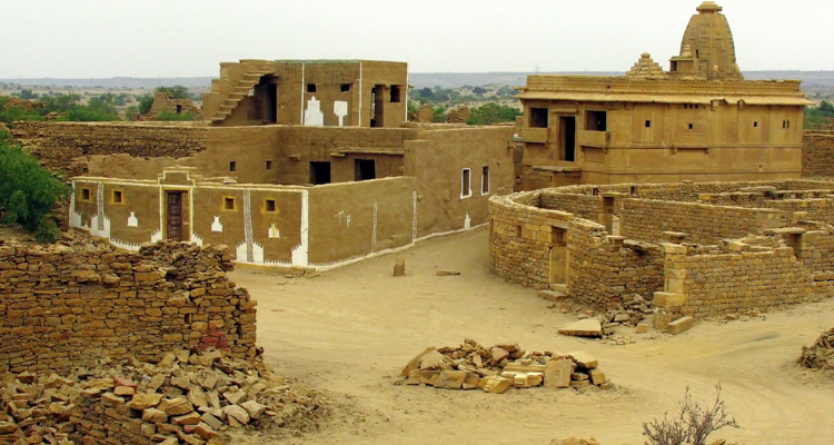 One Day Jaisalmer Local Sightseeing Trip by Car Kuldhara Abandoned Village